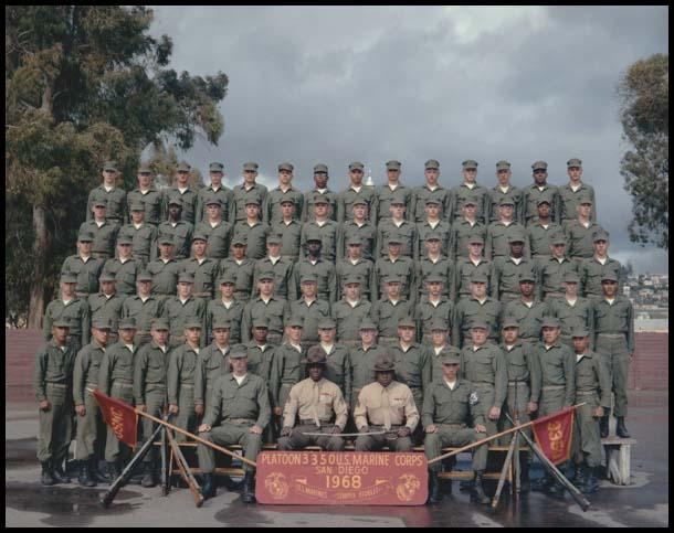 Platoon 3350-MCRD-1968